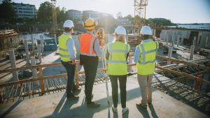 survey companies construction building new
